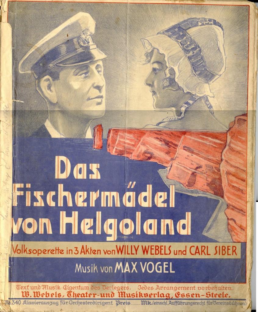Das Fischermädel von Helgoland_KPartitur