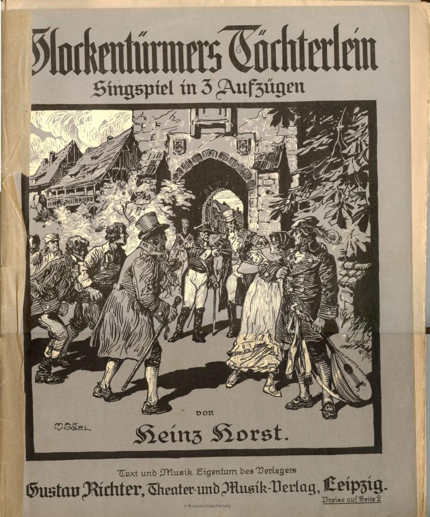Glockentürmers Töchterlein_KPartitur
